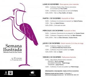 Semana ilustrada en la Biblioteca Insular de Gran Canaria