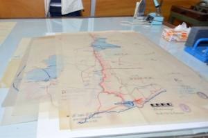 Digitalización de los planos de guerra del Archivo Juan Negrín
