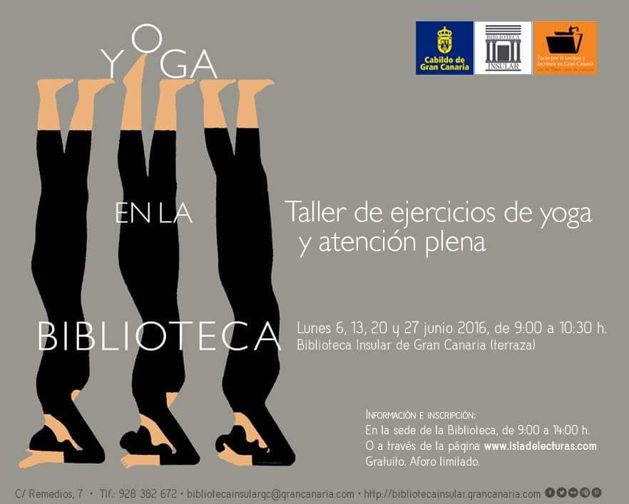 Yoga en la biblioteca