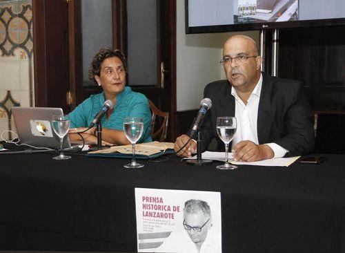 Se presentan en Lanzarote nuevas cabeceras digitalizadas