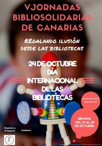V Jornadas Bibliosolidarias de Canarias
