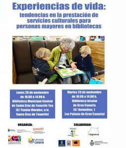 Jornada acerca de los servicios culturales para personas mayores en bibliotecas