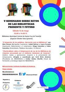 V Seminario sobre Retos de las Bibliotecas en Tenerife