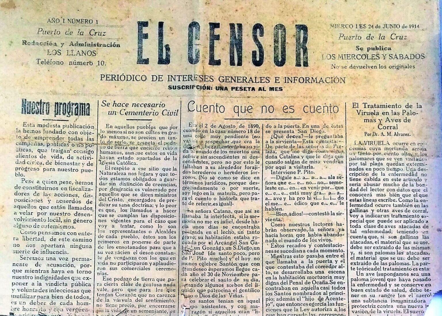El Censor, periódico